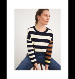 White Stuff Crewneck Stripe Sweater