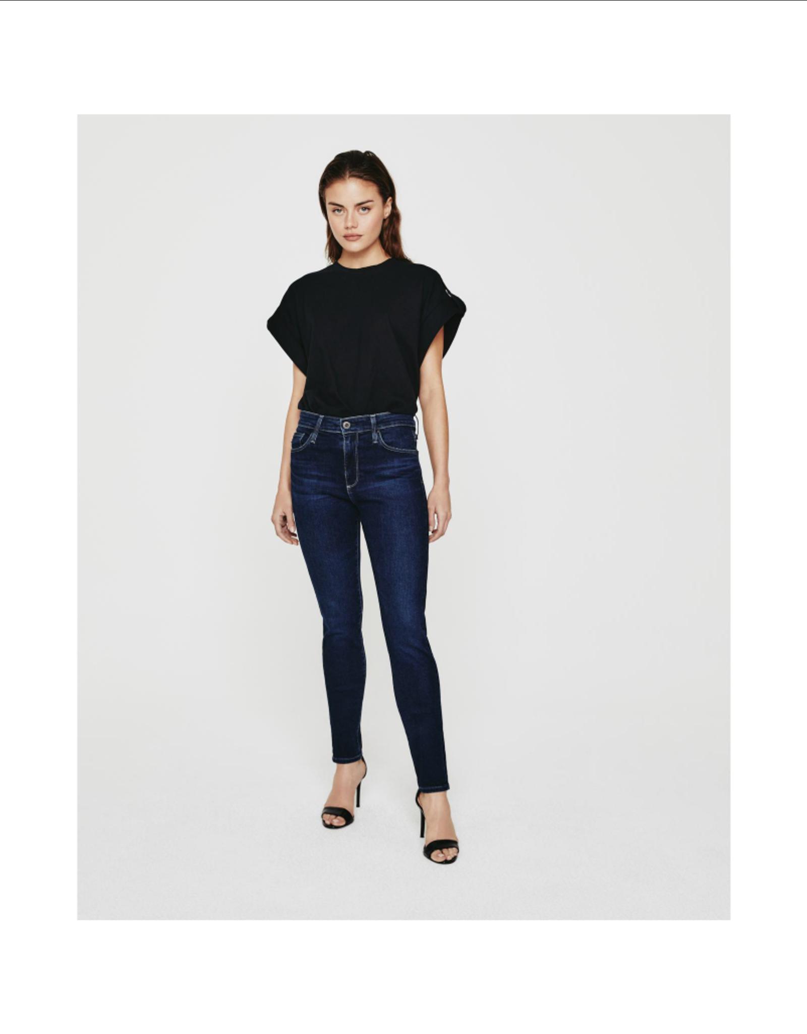 AG Jeans Farrah Skinny Castle Rock