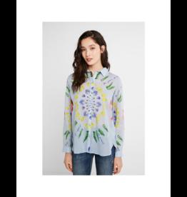 desigual Floral Cotton Blouse
