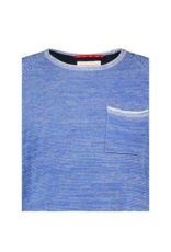 Fish Named Fred Pocket Stripe Light Sweater