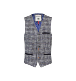 Fish Named Fred Cotton Mix 5-Button Vest (2 Colours Available)