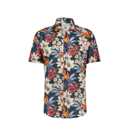Fish Named Fred Hawaiian Button Up