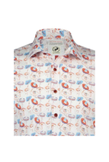 Fish Named Fred Sombrero Fish Long-Sleeve Button Up