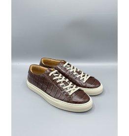 Manovie Toscane Filo Cream Sole Croco Sneaker