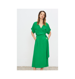 La Petite Francaise Reciporque Midi Wrap Dress
