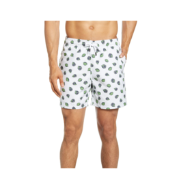 Stone Rose Lime Swim Shorts