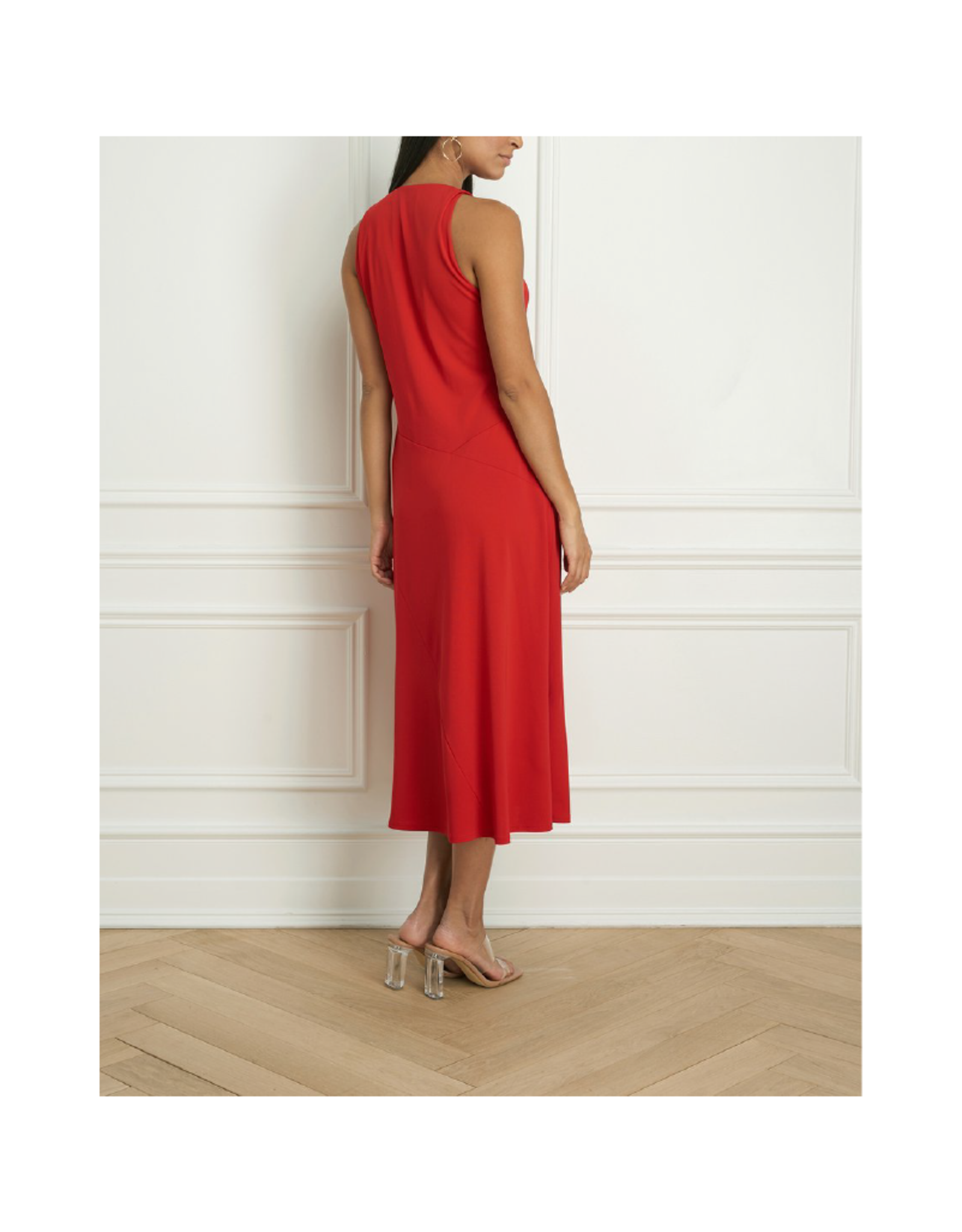 Iris V-Neck Sleeveless Dress