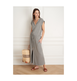 Iris Bamboo Viscose Waist Tie Dress