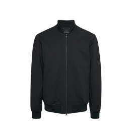 Matinique Black Double Zip Bomber Jacket
