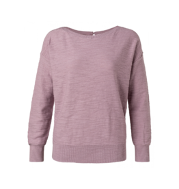 YaYa Key Hole Crewneck Sweater