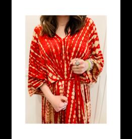 espy Hand Tie Dyed Long Kaftan (11 Colours Available)