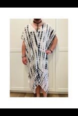 espy Boho Hand Tie Dyed Kaftan