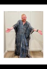 espy Hand Tie Dyed Long Kaftan