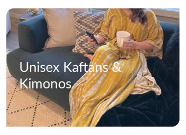 Handmade Unisex Kaftans + Kimonos