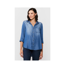 Velvet Heart Blake  Single Pocket Blouse