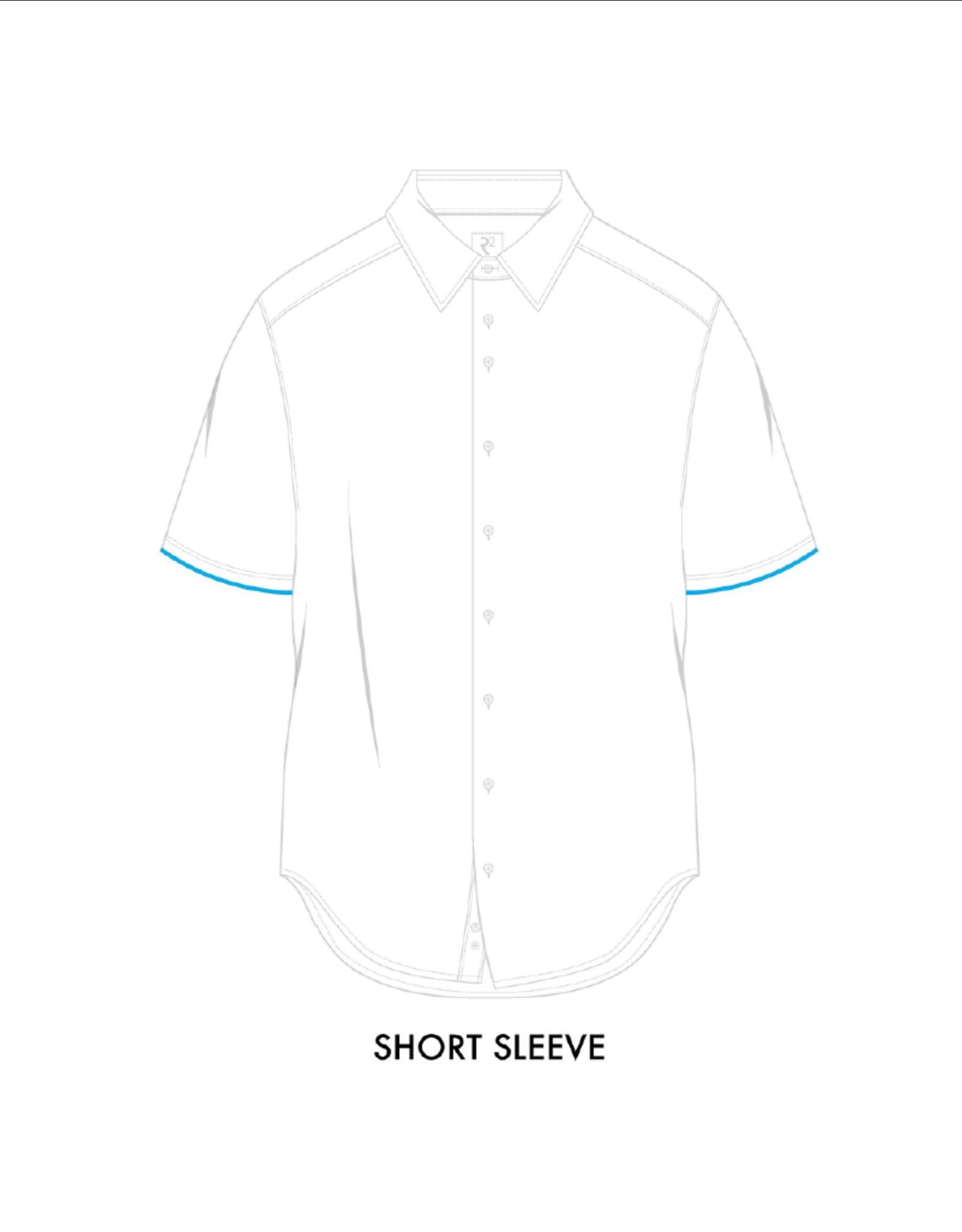 R2 Daisy Short-Sleeve Button Up