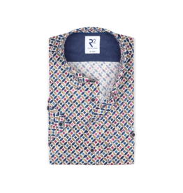 R2 Circle S/S Button Up