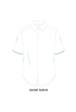 R2 Circle Short-Sleeve Button Up