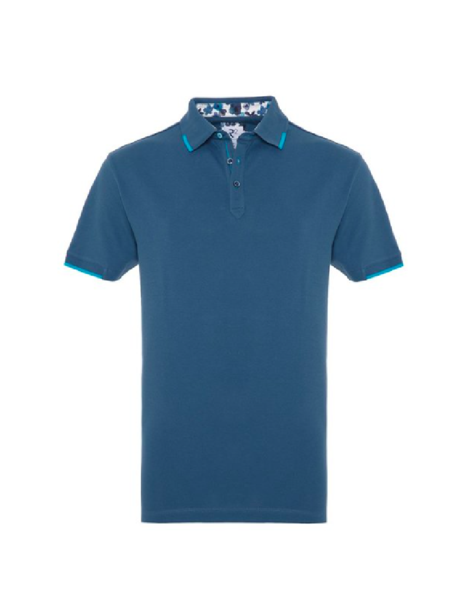 R2 Banded Cotton Stretch Polo