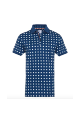 R2 Dotted Waffle Polo