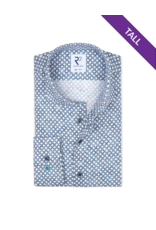 R2 Soft Circle Long-Sleeve Button Up