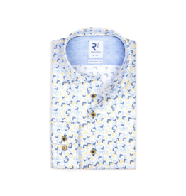 R2 V-Pattern S/S Button Up