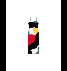 Lezalez Side Slit Bodycon Dress