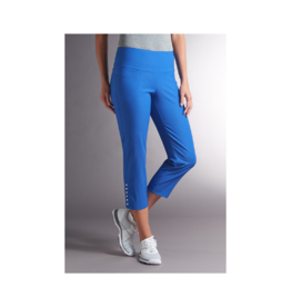 Swing Control Faux Snap Crop Pant (2 Colours Available)