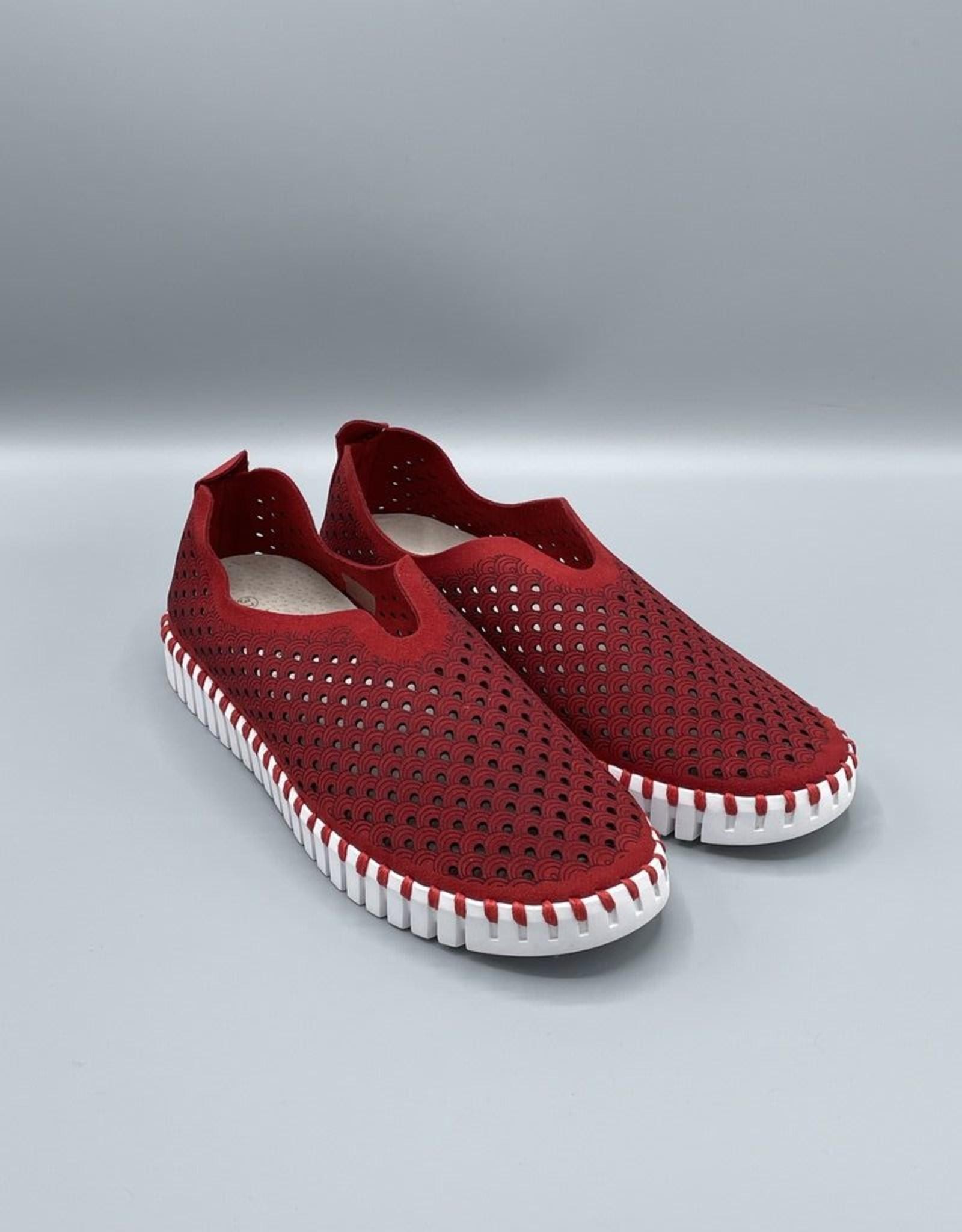 Ilse Jacobsen Microfibre Tulip Slip On Shoe