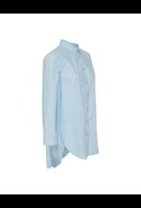 Inwear Long-Sleeve Cotton Button Down Tunic