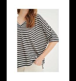 Inwear V-Neck Dolman Stripe Top