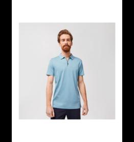 Robert Barakett Georgia Pima Cotton Zip Polo (3 Colours Available)
