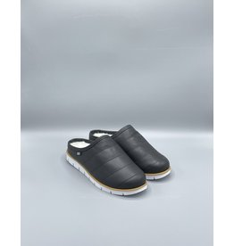 espy Synthetic Wool Lining Leather Slippers (2 Colours Available)