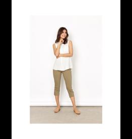 Soya Concept Sleeveless Full Button Blouse