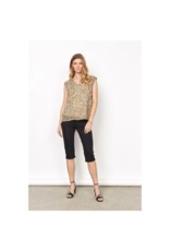 Soya Concept Cap Sleeve Blouse w/Underpinning