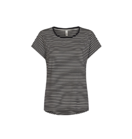 Soya Concept Striped Crewneck Tee (2 Colours Available)