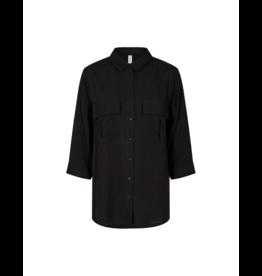 Soya Concept Patch Pocket 3/4 Sleeve Blouse