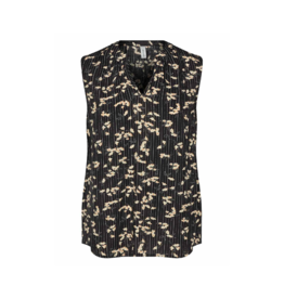 Soya Concept S/S Printed Blouse