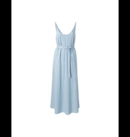 YaYa Midi Thin Strap Jersey Dress