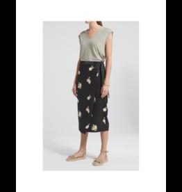 YaYa Lemon Wrap Skirt