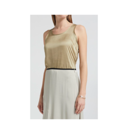YaYa Thick Strap Woven Back Top (4 Colours Available)