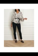 Iris Criss Cross Kimono Sleeve Top