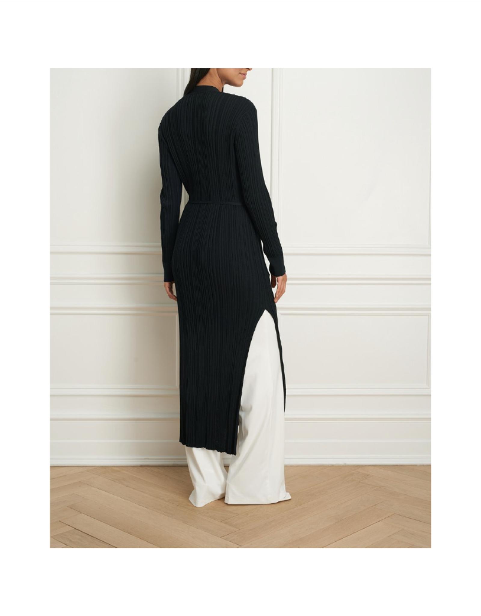Iris Irregular Rib Dress