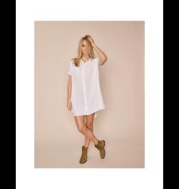 Mos Mosh Linen Tunic Dress (2 Colours Available)
