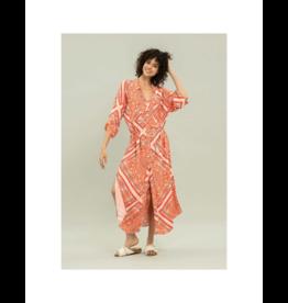 Lezalez Rayon Stars Midi Dress (2 Colours Available)