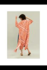 Lezalez Rayon Stars Midi Dress