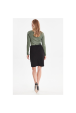 B. Young 4-Way Stretch Tie Up Skirt