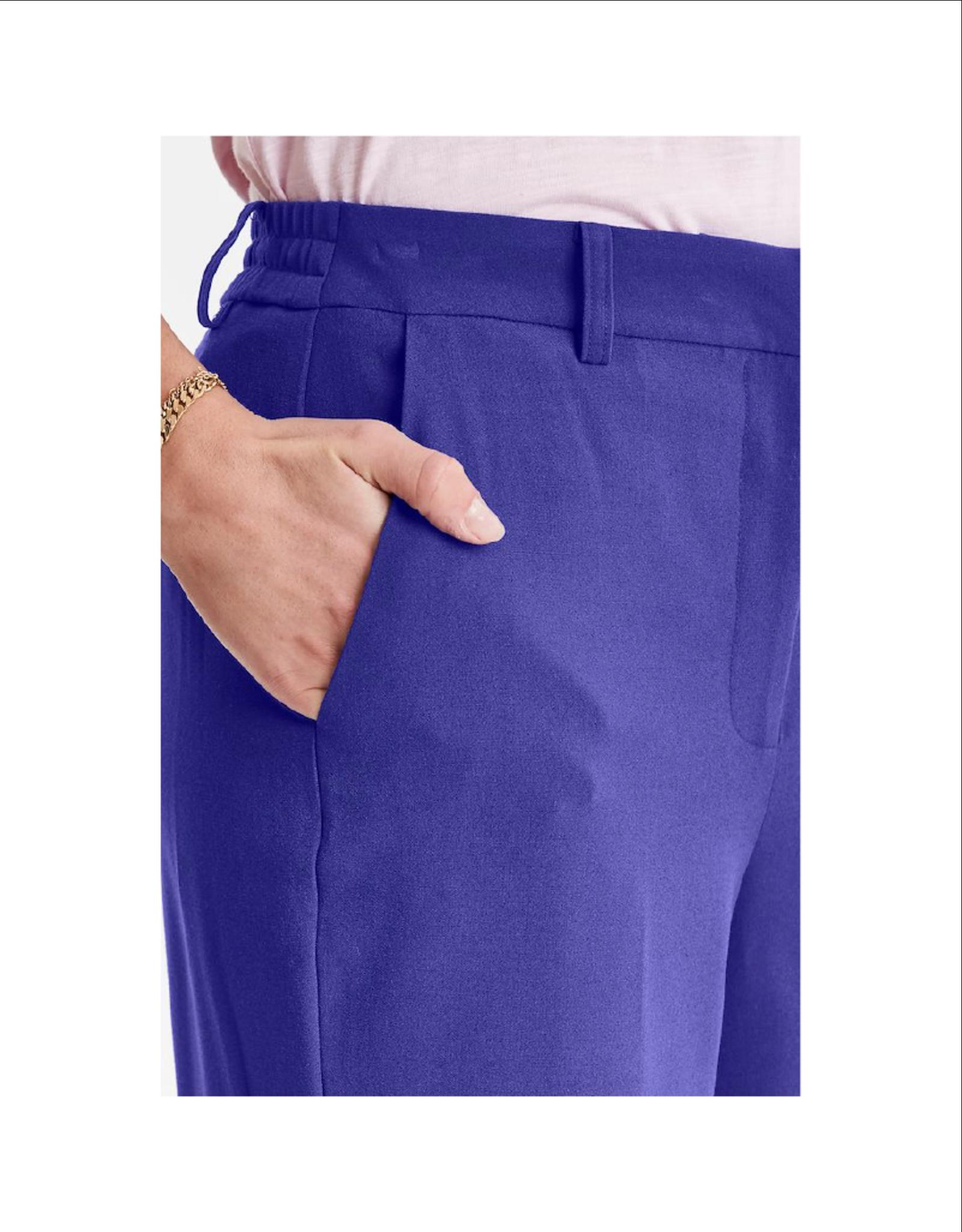 ICHI Elastic Back Slim Pant
