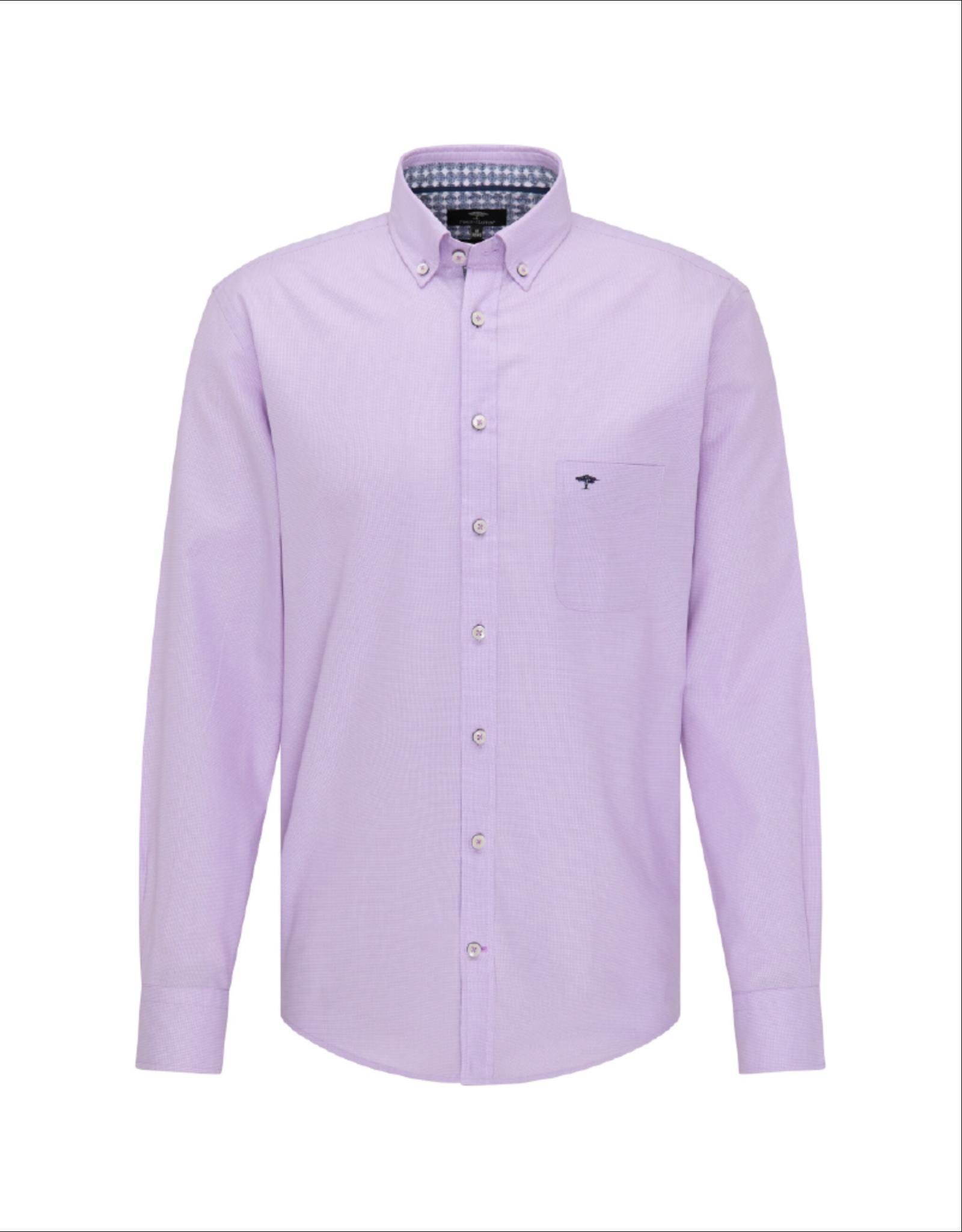 Fynch Hatton Lavender Button-Up Shirt