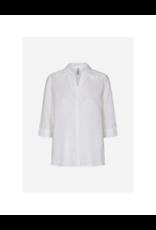 Soya Concept 3/4 Length Sleeve Eyelet Button Blouse